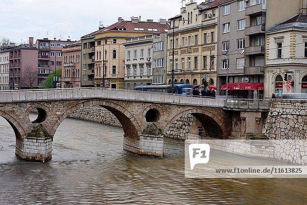 Prince bridge in Sarajevo  Bosnia y Herzegovina