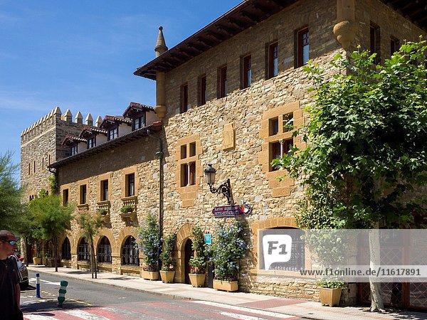 Karlos Arguiñano Restaurant  Zarautz  Gipuzkoa province  Basque Country  Spain. Historical Heritage Site.