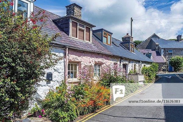 Llwyngwril a coastal village  Gwynedd  Wales  United Kingdom  Europe.