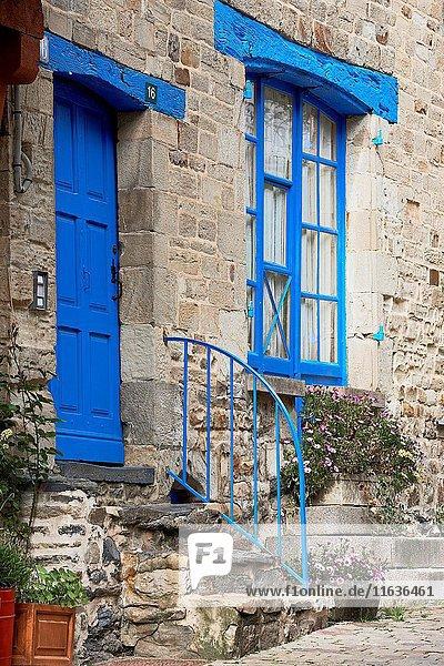 Vitre  Ille-et-Vilaine  Old Town  Bretagne  Brittany  France.