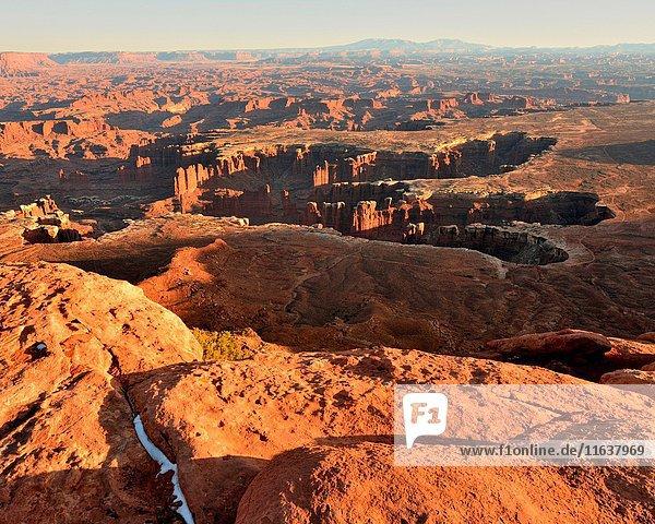 Green River Overlook  Canyonlands National Park  Moab  Utah