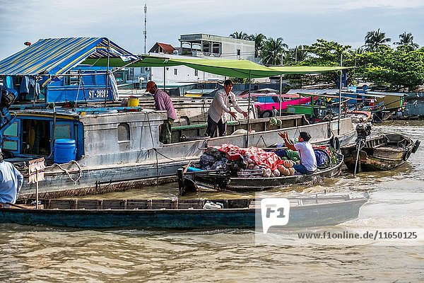 Can Tho province  Mekong Delta  Can Tho Floating Market