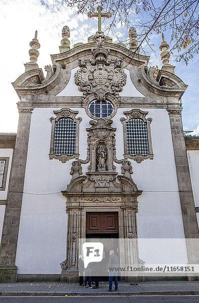 Church of Nossa Senhora da Esperanca (Our Lady of Hope Church) in Porto city on Iberian Peninsula  second largest city in Portugal.