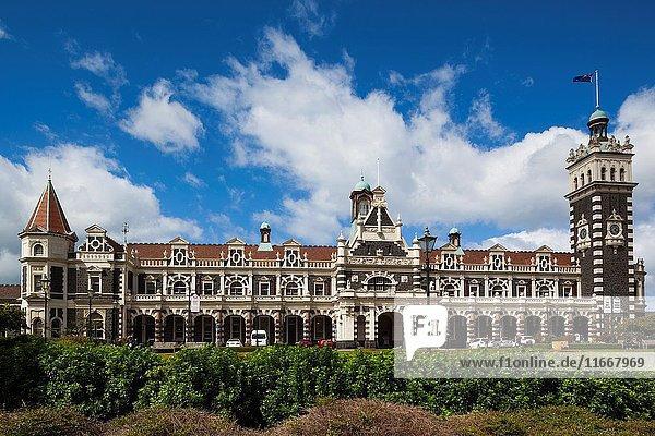 New Zealand  South Island  Otago  Dunedin  Dunedin Railway Station  built 1906  exterior.