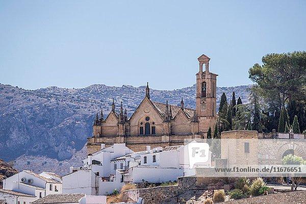 Real Colegiata de Santa María la Mayor in Antequera  province of Malaga  Andalucia  Spain.