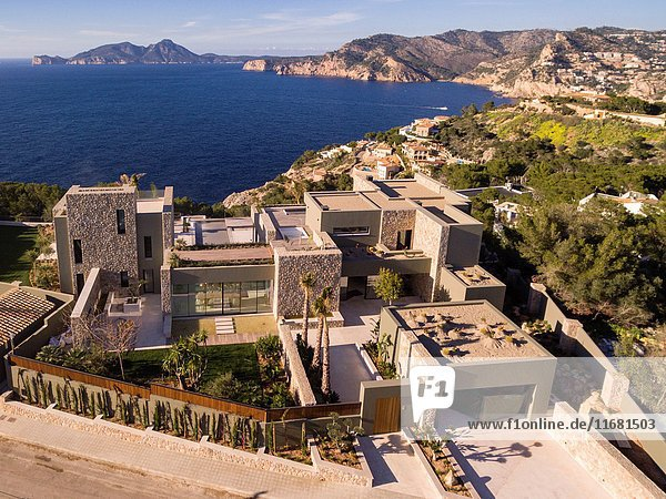 Costa de Cala Llamp  Andratx  Mallorca  balearic islands  spain  europe.