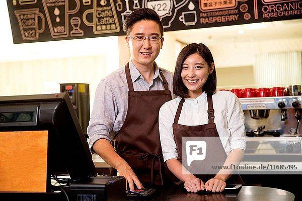 Cafe cashier