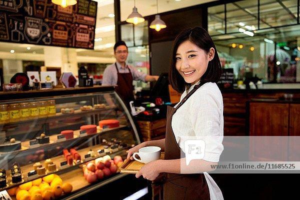 Coffee shop attendant