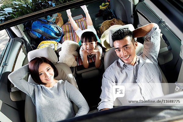 Family on trip
