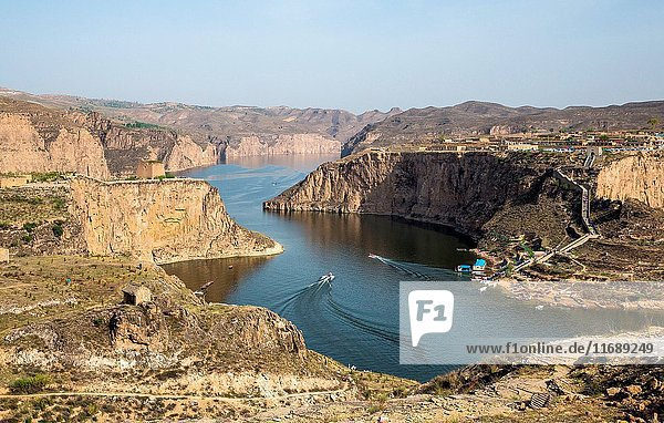 Universe Bay scenery of Pianguan County in Shanxi Province China
