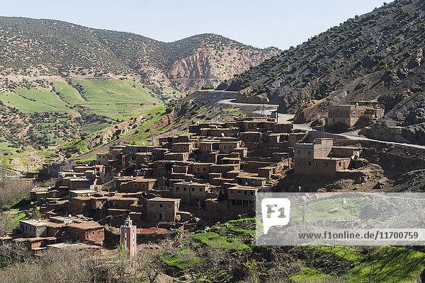 Marokko  Dorf bei Marrakesch
