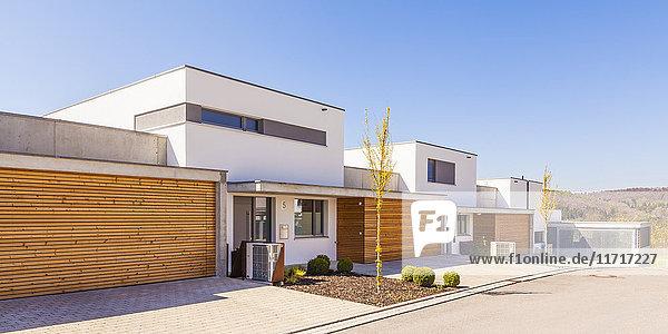 Energiesparende Einfamilienhäuser