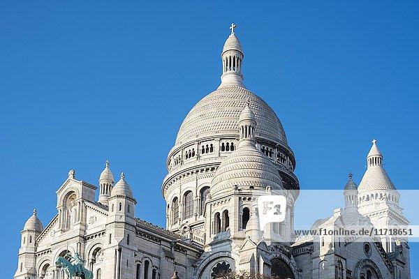 Sacré-C?ur de Montmartre  Montmartre  Paris  Île-de-France  Frankreich  Europa