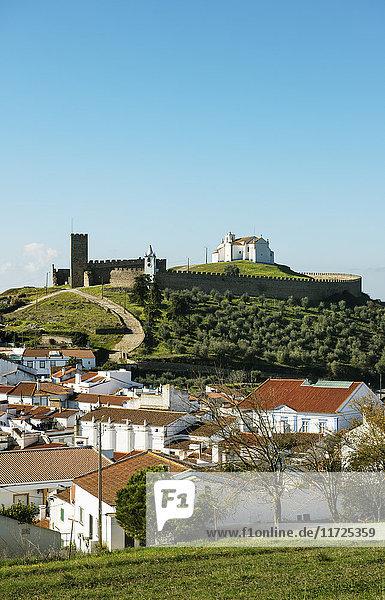 The 13th century medieval castle of Arraiolos. Alentejo  Portugal