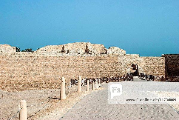 Qal at al-Bahrain (Bahrain Fort  Portuguese Fort). Bahrain  United Arab Emirates.