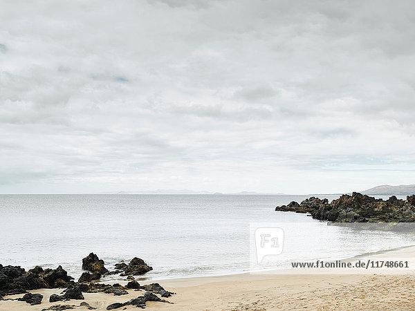 Beach at Lanzarote  Spain