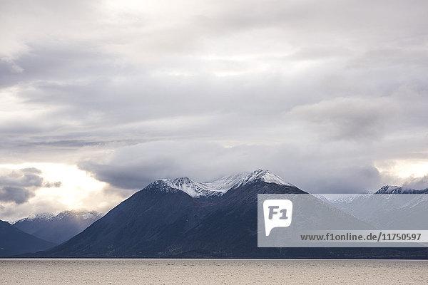 Landscape of Anchorage  Alaska  USA