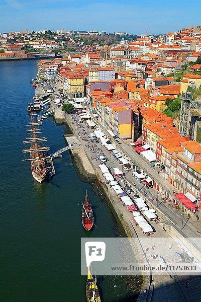 Douro River Porto Portugal.