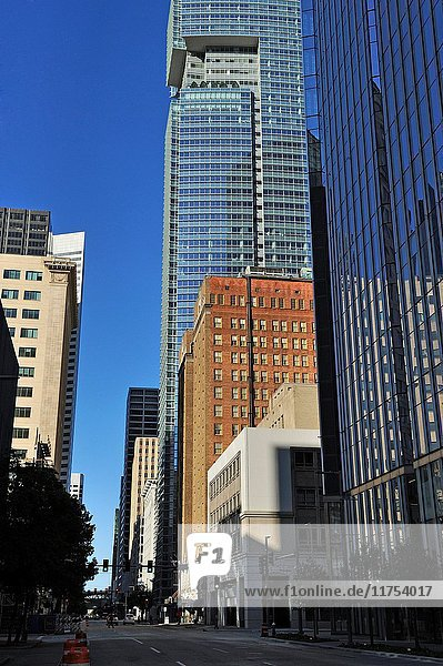 Downtown Houston  Texas  United States of America  North America.