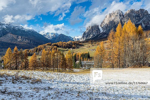 Passo Tre Croci  Cortina D'Ampezzo  Province of Belluno  region of Veneto  Italy  Europe.