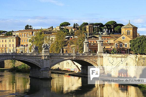 Tiber River  Rome  Lazio  Italy  Europe