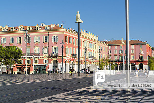 Place Messina  Nice  Alpes Maritimes  Cote d'Azur  Provence  France  Europe