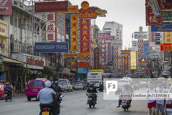 Chinatown  Bangkok  Thailand  Southeast Asia  Asia