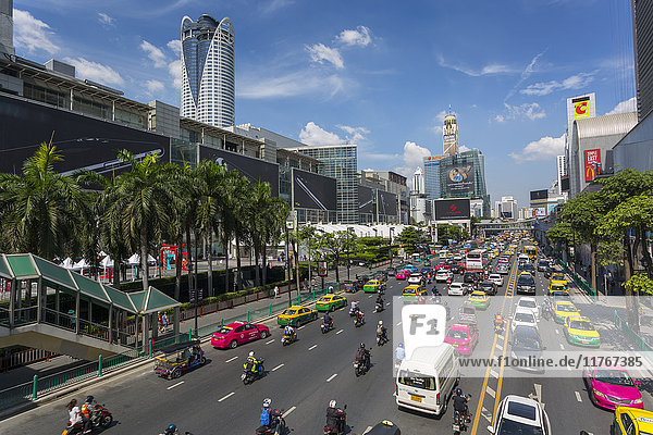 Ratchadamri Road  Bangkok  Thailand  Southeast Asia  Asia