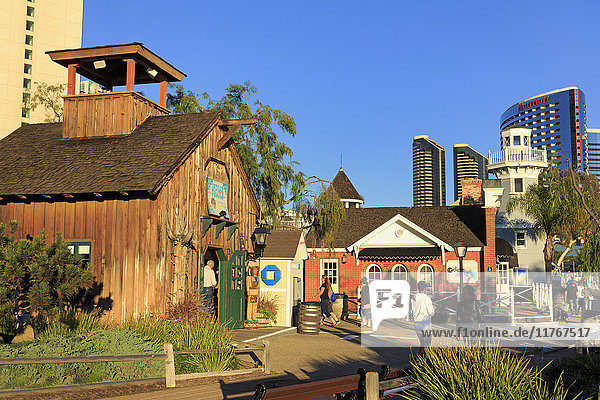 Seaport Village  Embarcadero  San Diego  California  United States of America  North America