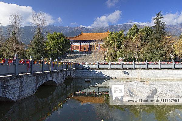 Chongsheng Temple  Dali  Yunnan  China  Asia