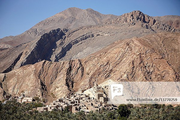 Falaj Al Khatmeen  Nizwa  Oman.