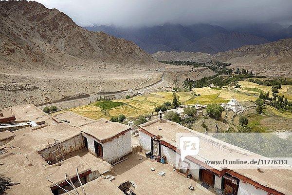 Likir Monastery  Kikir  Ladakh  India.