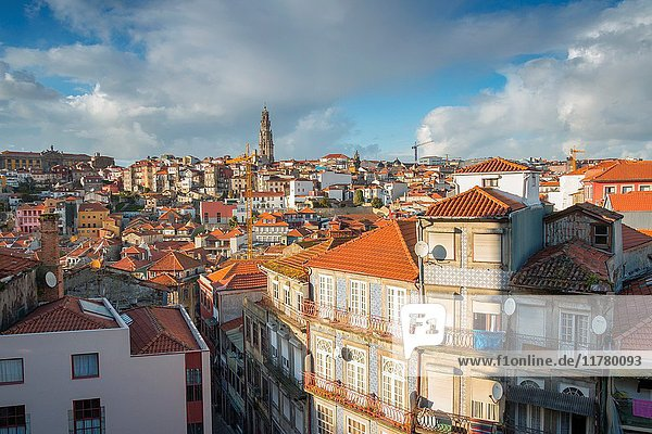 Porto old town. Oporto city  Porto district  Portugal  Europe.