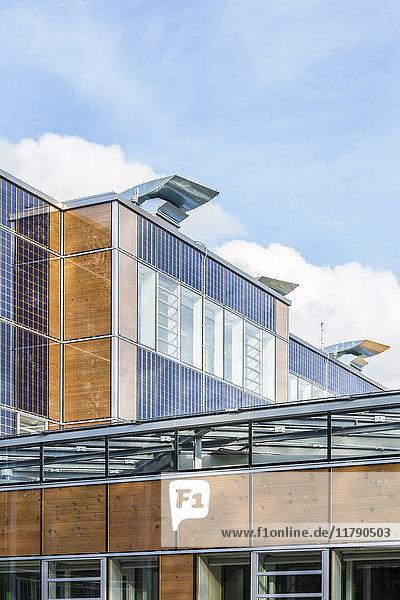 Deutschland  Geislingen an der Steige  energieeffizienter Umbau eines Schulgebäudes