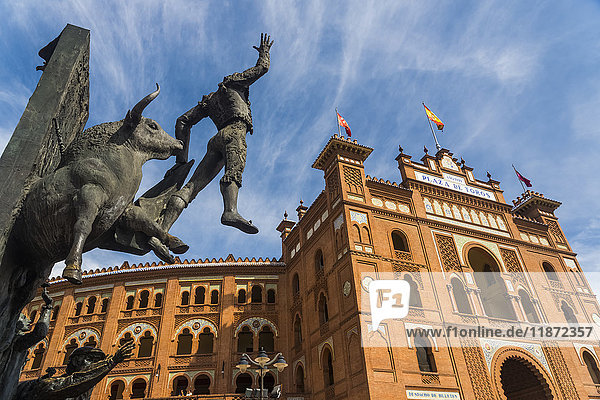 'The most famous bullring in the whole country called Las Ventas; Madrid  Spain'