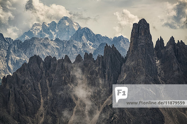 'The Dolomite mountains of Natural Park Tre Cime; Italy'