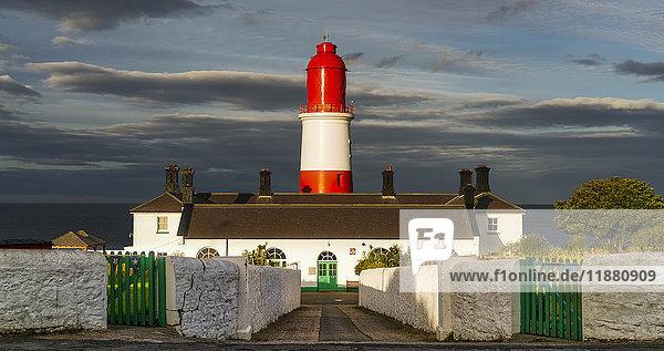 'Souter Lighthouse  Marsden; South Shields  Tyne and Wear  England'