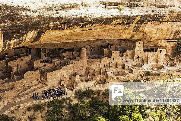 'Tonto National Monument; Arizona  United States of America'