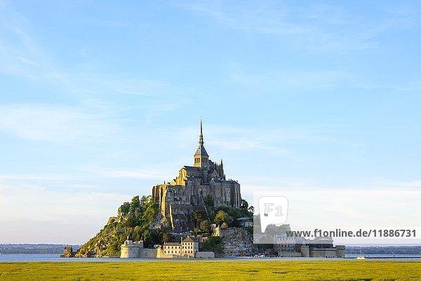 Le Mont-Saint-Michel  Manche  Normandie  Frankreich  Europa