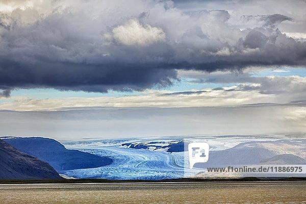 Gletscher Vatnajökull  Höfn  Höfn í Hornafirði  Island  Europa