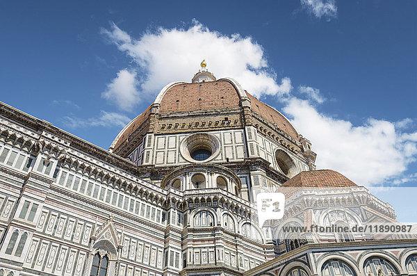 Italien  Florenz  Teil der Basilika Santa Maria del Fiore
