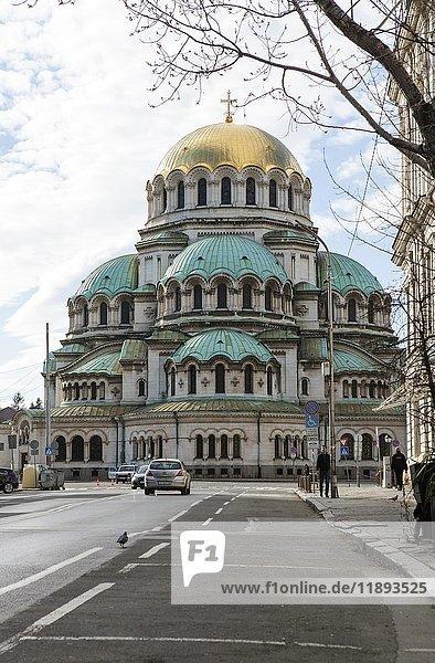 Alexander-Newski-Kathedrale  Sofia  Bulgarien  Europa