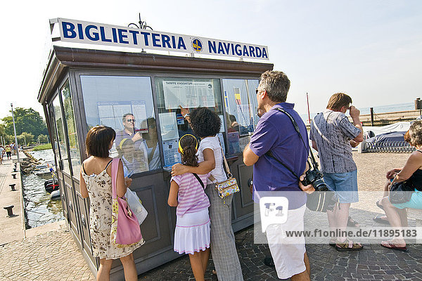 Ferry tickets  Bardolino  Garda lake  Province of Verona  Italy