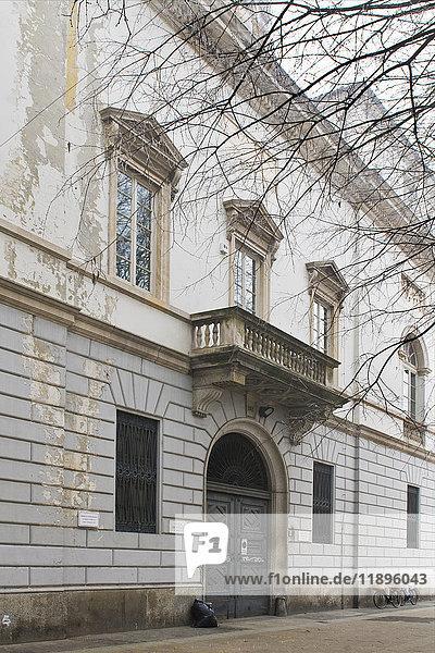Bonetta civic library  Pavia  Italy