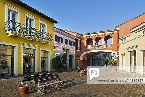 Designer outlet  Serravalle Scrivia  Piedmont  Italy