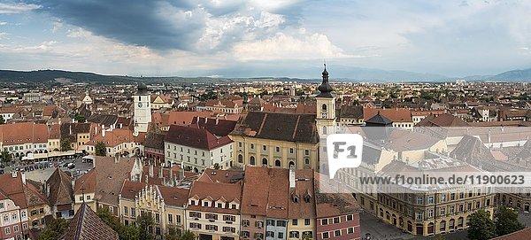 Old Town of Sibiu  Romania  Europe