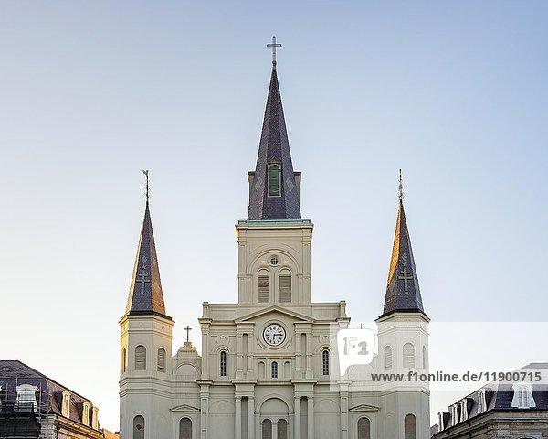St. Louis Kathedrale  French Quarter  New Orleans  Louisiana  USA  Nordamerika