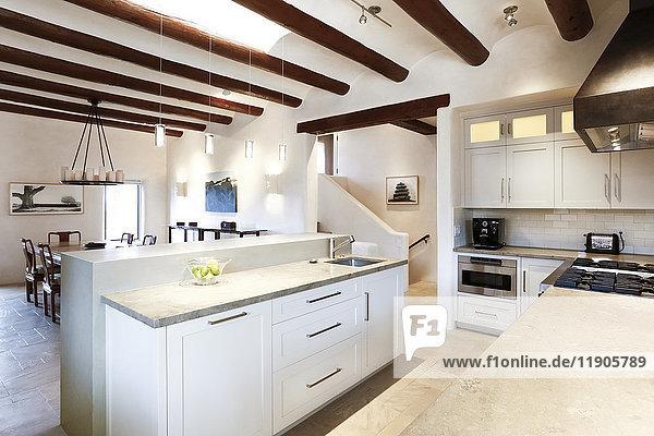 Luxury domestic kitchen