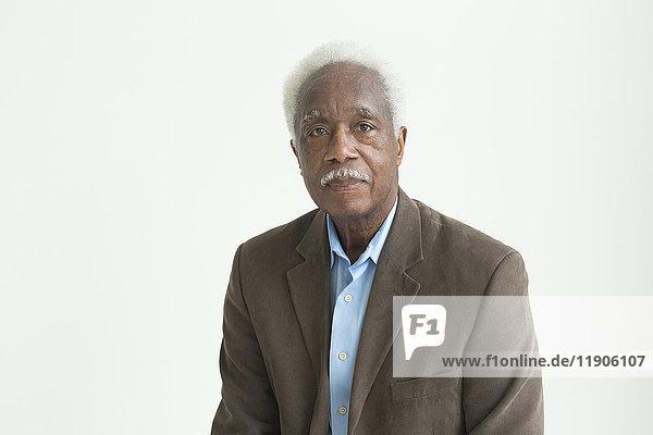 Portrait of a older Black man