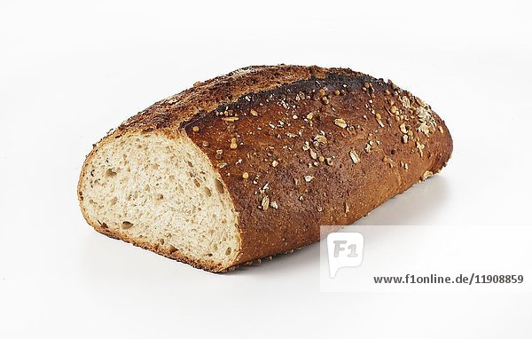 Australisches Brot  angeschnitten